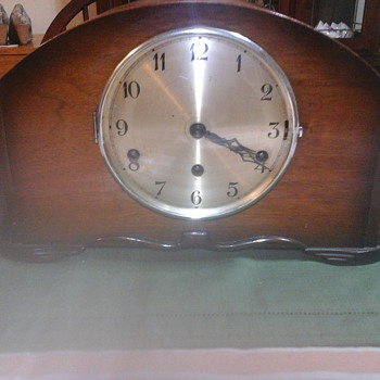 Franz Hermle and Sohn Mantle Clock - Clocks