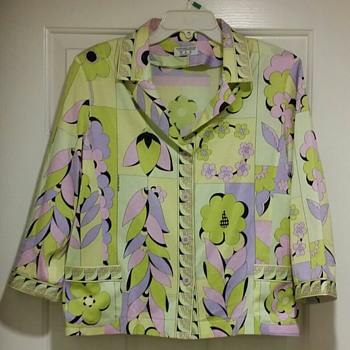 Averardo Bessi Blouse Jacket Vintage Italian