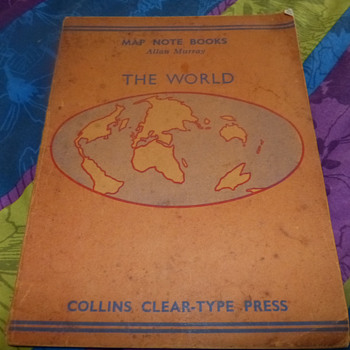 Allan Murray Map Note Books The World 1941 - Books