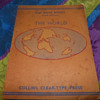 Allan Murray Map Note Books The World 1941