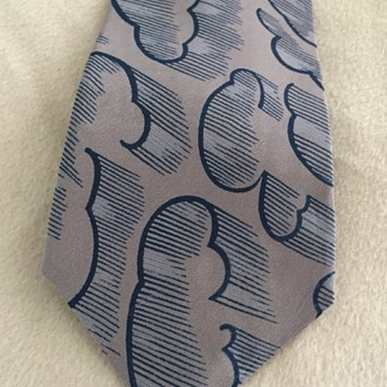 "Stormy Weather Tie ""Images by Guy LaRoche"" - Accessories"