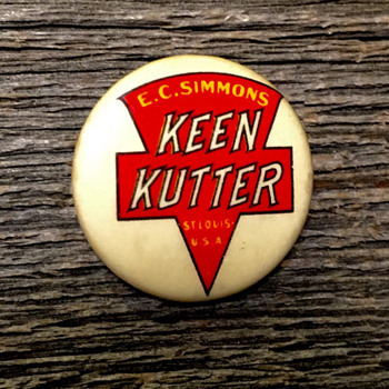 Keen Kutter Pin-back Button