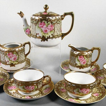 Antique Noritake Nippon Tea Set - China and Dinnerware