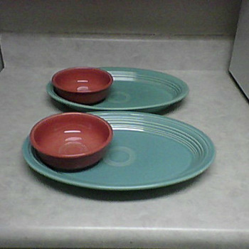 MORE FIESTA WARE - China and Dinnerware