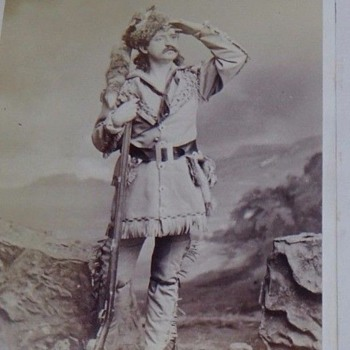 Old Photo--Is This Daniel Boone--Photo by Mora, Broadway.
