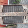 Tractor grill light fixture
