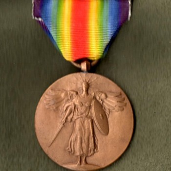 Victory Medals for All Divisions of the AEF, Part 3 - Military and Wartime