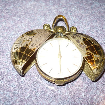 Need help Identify unusual German Swiss Pocket watch