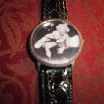 VINTAGE MARILYN MONROE WRIST WATCH 