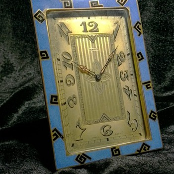 Art Deco Clock Mystery?