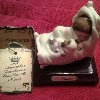 1987 Gluseppe ARMANI Figurine