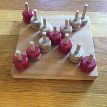 Unknown wooden game