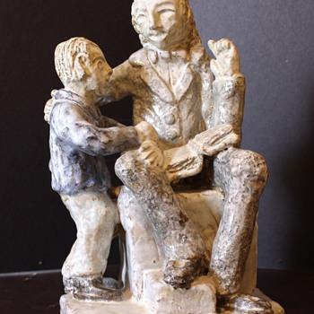 Reader Statue, help identify please