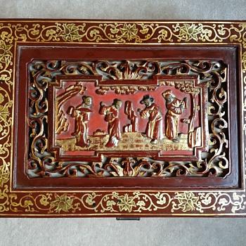 Chinese Scholar Box