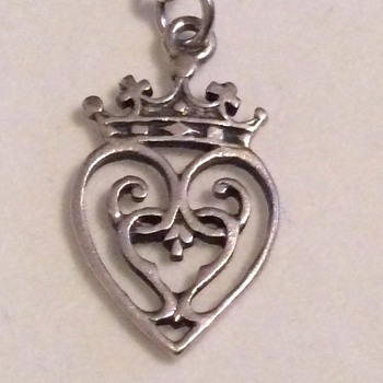Vintage silver charm  - Sterling Silver