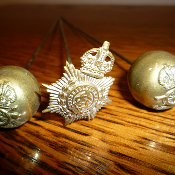 WWI sweetheart hat pins