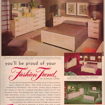 1950 Johnson Furniture Advertisements - Advertising