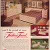1950 Johnson Furniture Advertisements