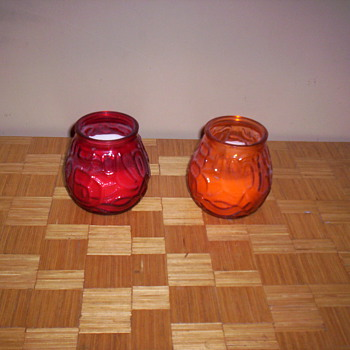 Candles  - Glassware