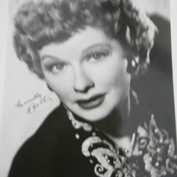The face of comedienne Lucille Ball, I Love Lucy.
