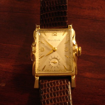 my only Bulova - Wristwatches