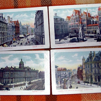1900-1910-old birmingham-victorian postcards. - Postcards