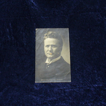 Wisconsin Senator Robert M. La Follette, Sr. Postcard circa 1900 - Postcards