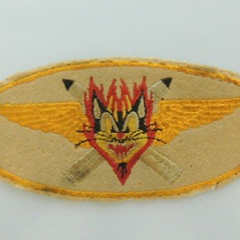VF-13 BLACK CATS NAVY FIGHTER SQUADRON PATCH - Advertising