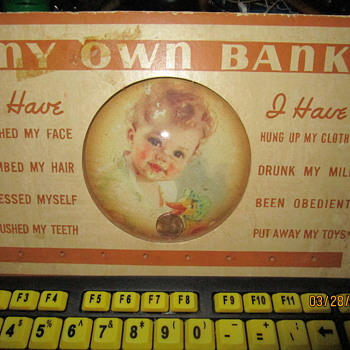 Vintage Baby Bank