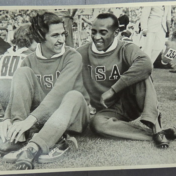 Sammelwerk Trading Card - JESSE OWENS HELEN STEPHENS