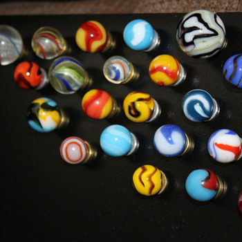 Variety of new marbles - Games