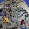 OUTSTANDING Levis Big E 1960's California Hippie Jacket