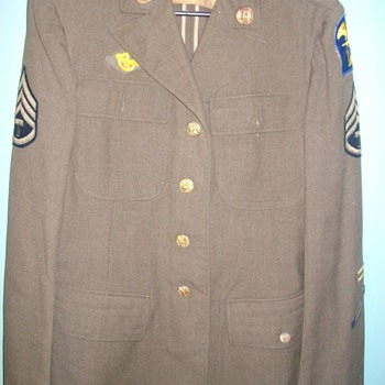 World War Two U.S. Army Uniform