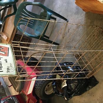 7UP display cart