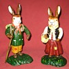 German Made Cast Iron Rabbits (Reproductions)