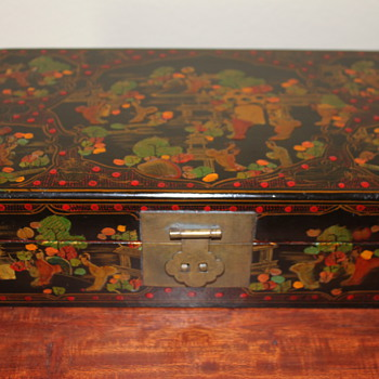 Chinese Leather Box - Asian