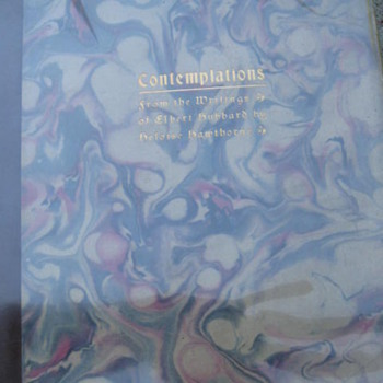Contemplations ,  Roycroft press