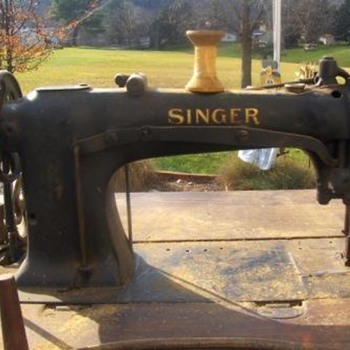 Singer 21 W 180, industrial compound needle feed sewing machine - Sewing