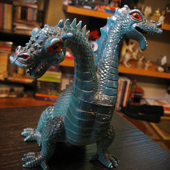 '80s Two Headed Dragon from Ideal