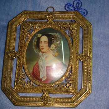 Portrait of Maria Anna of Savoy signed Daffinger - Visual Art