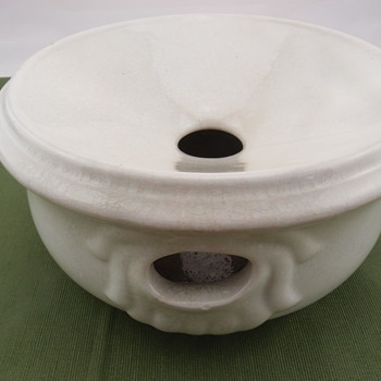 Etruria Works Ironstone China Spitoon - China and Dinnerware