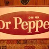 I have some questions about this old Dr. Pepper sign.