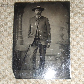 Civil War veteran in GAR uniform - Military and Wartime