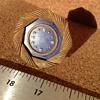 Tiffany 18k Gold & Lapis Clock