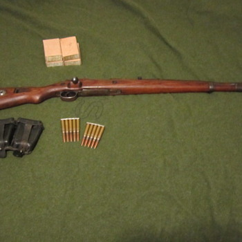 WWII German K98k Mauser - Military and Wartime