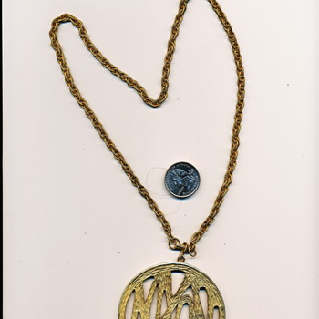 Psychadelic Nixon 72 Medallion - Costume Jewelry