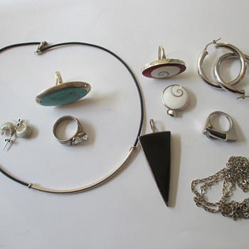 Flea market finds - silver - Fine Jewelry