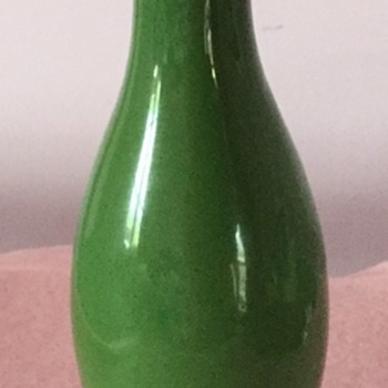 Beautiful green vase