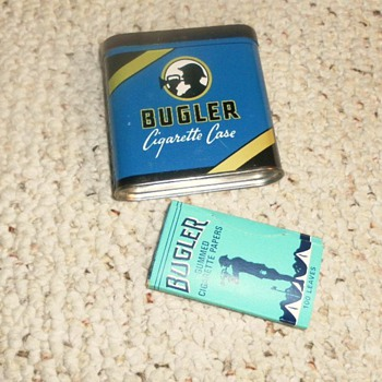 Bugler &  Sir Walter Raleigh  TOBACCO TINS