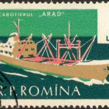"1961 - Romania ""Ships"" Postage Stamps - Stamps"